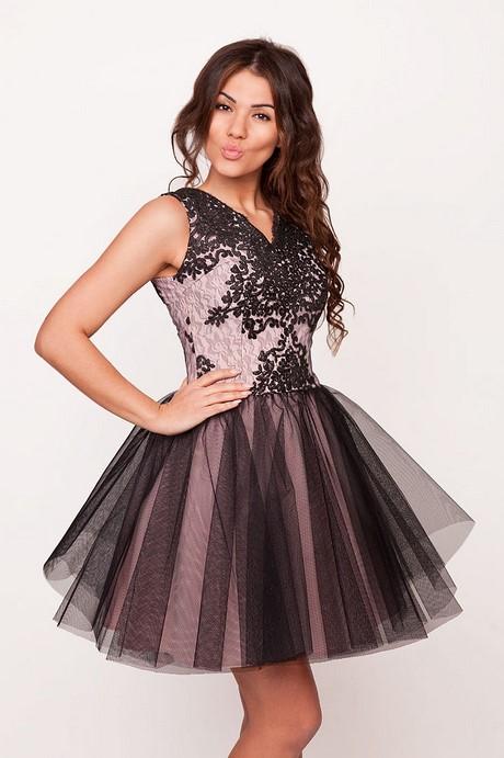 Kremowa koronkowa sukienka